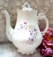 Antik porcelán teás kanna