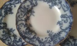 Antik fajansz cauldon tányérok ( 6 db)