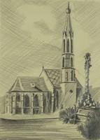0U911 Eke Sándor : Sopron Ferences templom