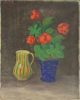 0U896 Gál István : Asztali virágcsendélet