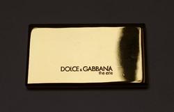 Dolce & Gabbana aranyozott,dupla piperetükör.