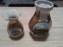Német porcelán kisvázák