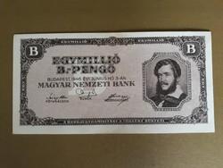 Hiperinfláció Egymillió B Pengő 1946