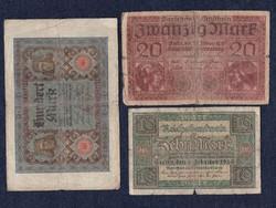 3 db német márka (id5559)