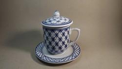 Teás bögre szett teaszűrővel