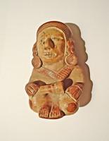 Indián kerámia szobor