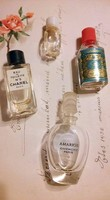 4db vintage mini parfümös gyűjtemény