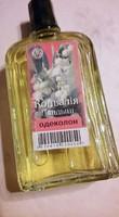 Vintage orosz gyöngyvirág kölni, tele üveg