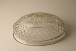 Art Deco kristály ovális falikar búra II.