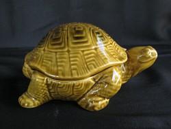 Kerámia teknős bonbonier