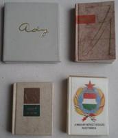 Mini könyvek 4 db.egyben