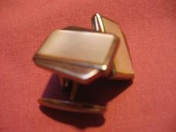Retro aranyozott gyöngyház mandzsetta gomb
