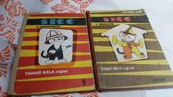 SICC könyv 2 db eladó! Sicc a vadonban, Sicc a cirkuszban.