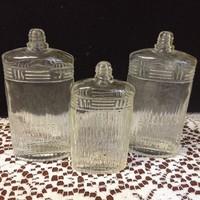 3 db régi Baeder kölnis,parfümös üveg