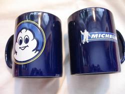 Retro Michelin gumi reklám bögre