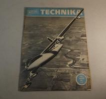 Régi újság Népszerű technika 1964 január