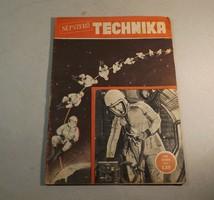 Régi újság Népszerű technika 1958 .október