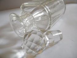 Kristályüveg, üveg butella, palack