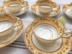 XIX. századi teás szettek gyöngyvirág motívummal