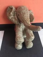 Elefánt antik darab játék 19 cm -es retro játék - Szerencse hozó kabala