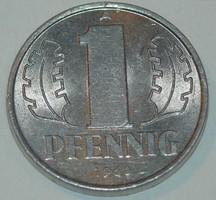 1 Pfennig - Kelet-Németország - 1960.