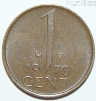 1 Cent - Hollandia - 1970.