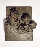 1920-30 Rozmaring és Vásárfia fali képek