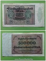500000 német márka 1923