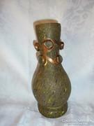Különleges szignált muranoi üveg váza
