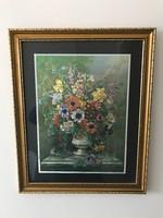 Tavaszi illat elnevezésű nyomatkép 57 x 46 cm kerettel