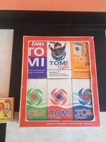 Retro , bontatlan Tomi mosópor, gyári csomagolásban, 6 doboz ! egyben