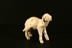 12cm Wallendorf Bárány Német Osztrák Porcelán Figura Állatfigura Hibátlan