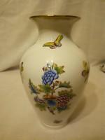 Herendi Viktória mintás porcelán váza VBO 23,5 cm
