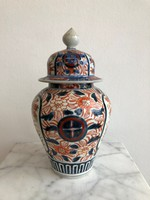 Antik Imari Japán Fedeles Porcelán Váza