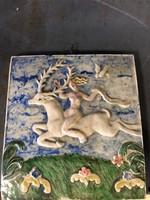 Porcelán falikép papíros bizonyítékkal