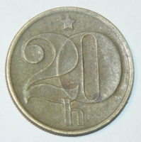 20 Haller - Csehszlovákia - 1972.