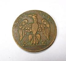 2 spiel münz, 1700-as évek.