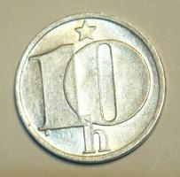 10 Heller - Csehszlovákia - 1986.