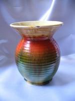 Hollóházi Szakmáry riolit váza