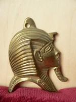 Egyiptomi réz falidísz