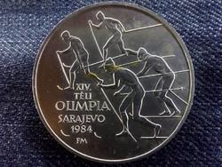 XIV. Téli Olimpia Szarajevo ezüst 500 Forint 1984/id 5631/