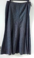 Tweed szerű hosszú téli szoknya