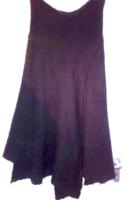 Négerbarna,cakkos aljú, nagyon meleg ,vastag anyagú hosszú téli szoknya
