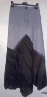 Nagyon mutatós ,elegáns,fekete-fehér pepita alkalmi hosszú szoknya