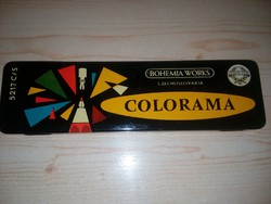 Czechoslovakia COLORAMA 5217 C/S 6 db-os mechanikus ceruza készlet