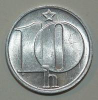 10 Haller - Csehszlovákia - 1974.