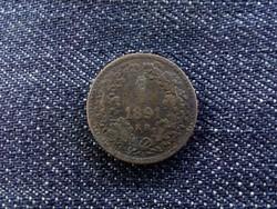 1 Krajcár 1891 KB/id 5296/