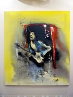 Jimi Hendrix olajfestmény