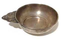 Ezüst tál ívó csanak ivó edény EZÜST 114 gr