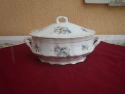 Antik szecessziós leveses tál a Monarchia korából
